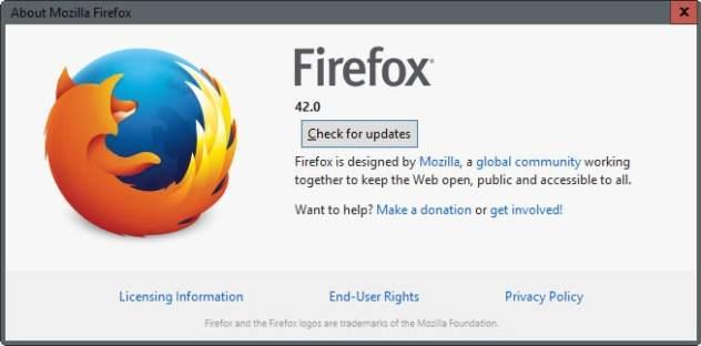 firefox 42.0