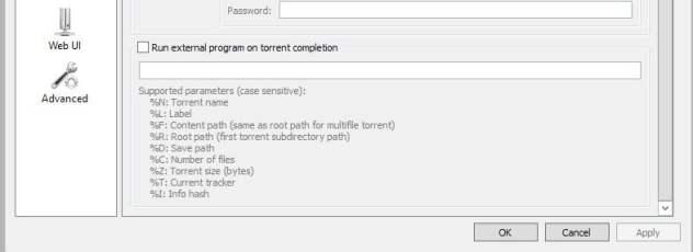 run external program