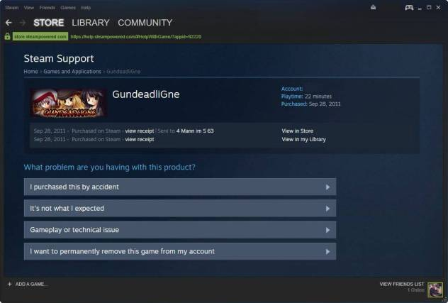 steam delete games permanently
