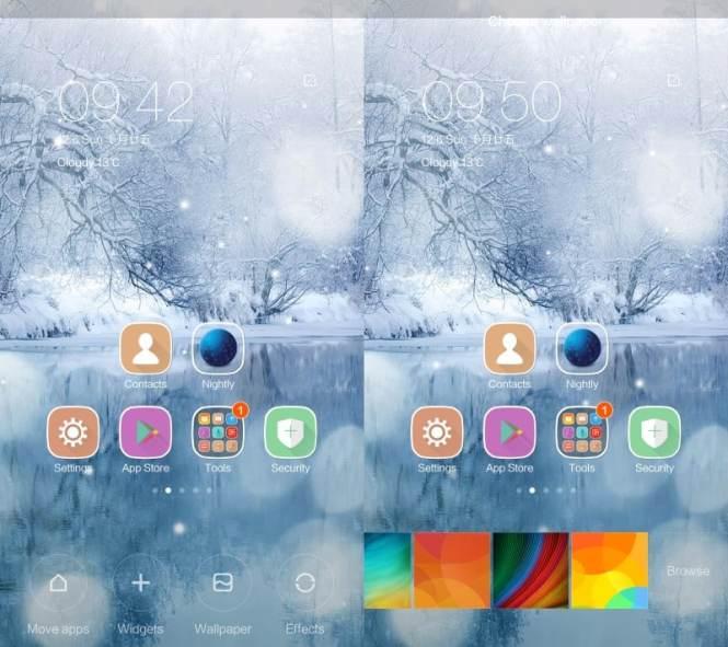 Cara menyesuaikan homescreen perangkat Xiaomi