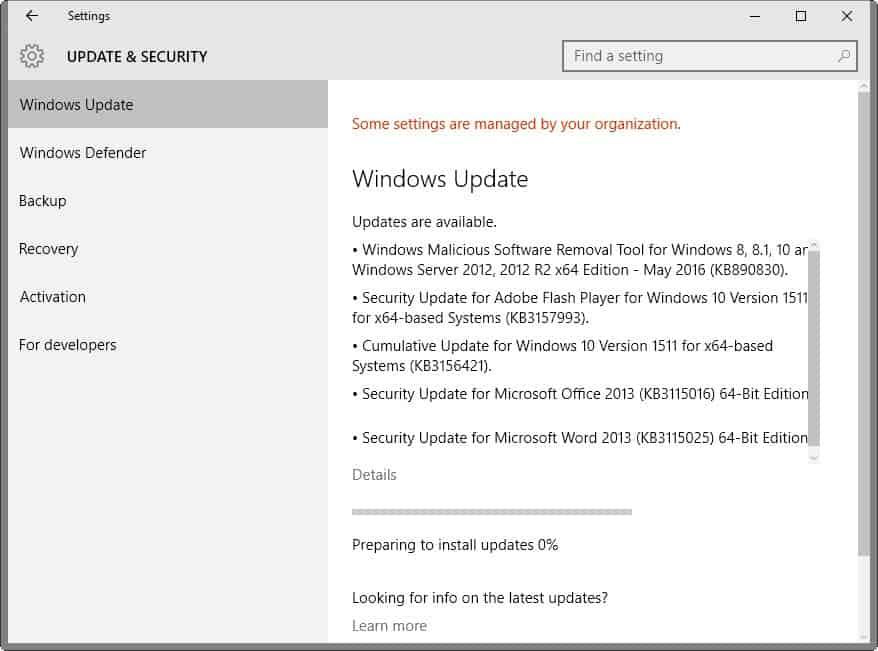 Microsoft Security Bulletins May 2016 - gHacks Tech News - microsoft bulletin