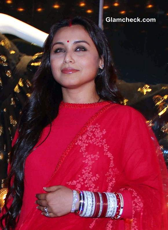 Grand Lit Newly Married Rani Mukherjee Co-launches Bollywood