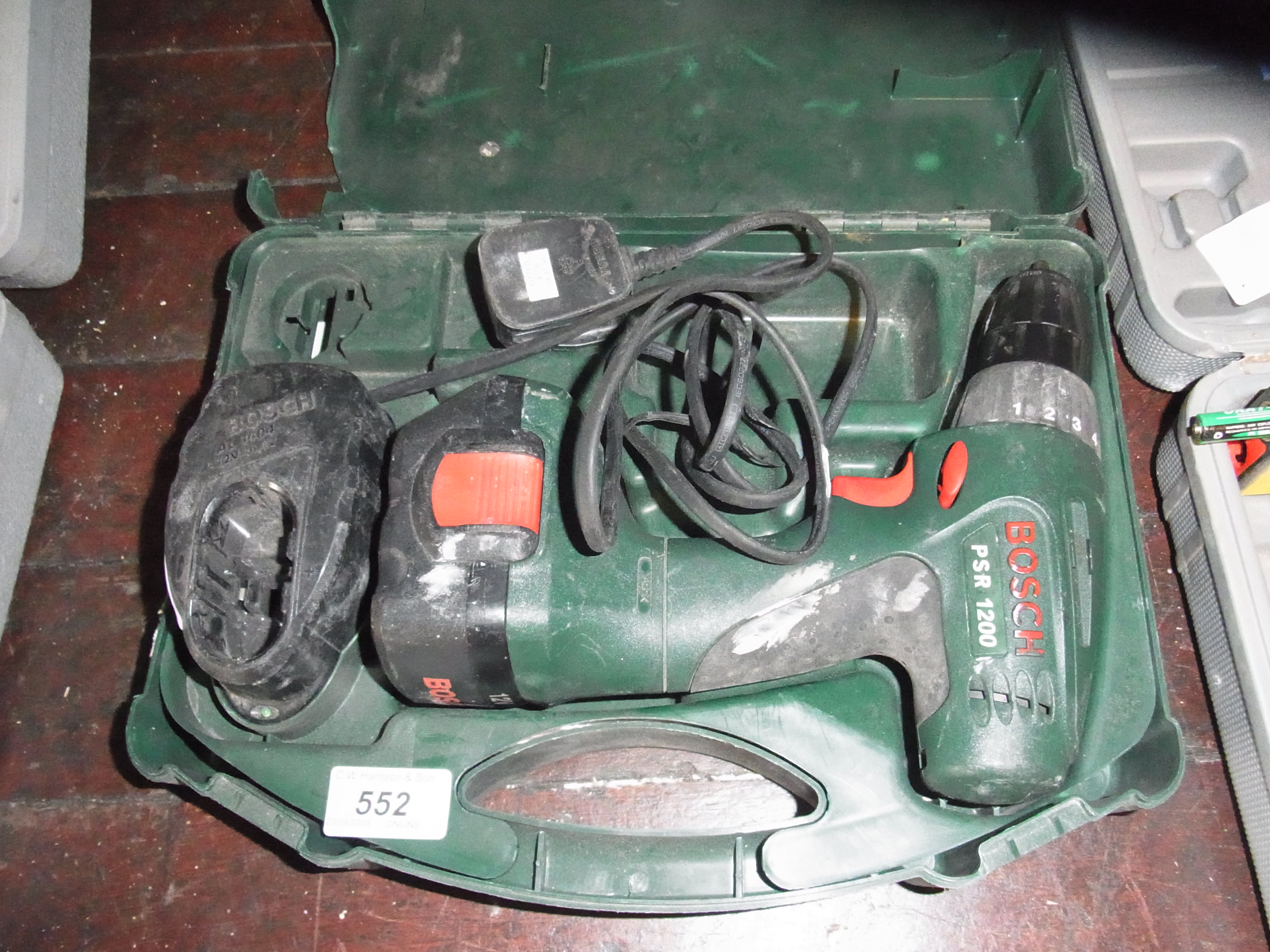 Psr 1200 Bosch Psr 1200 12v Cordless Drill In Case With Charger