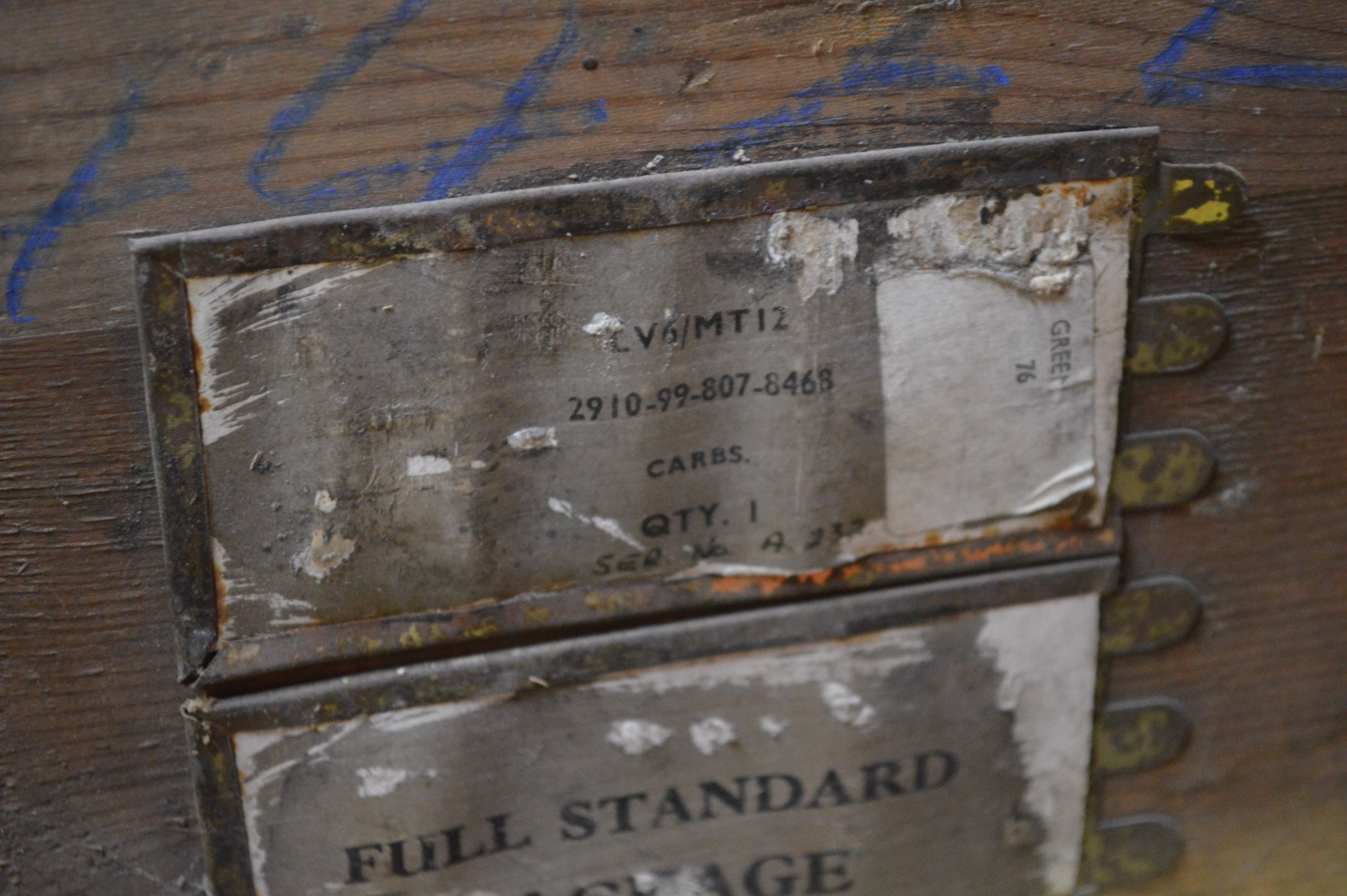 Timber Crates For Sale Timber Crate With Contents Understood To Comprise