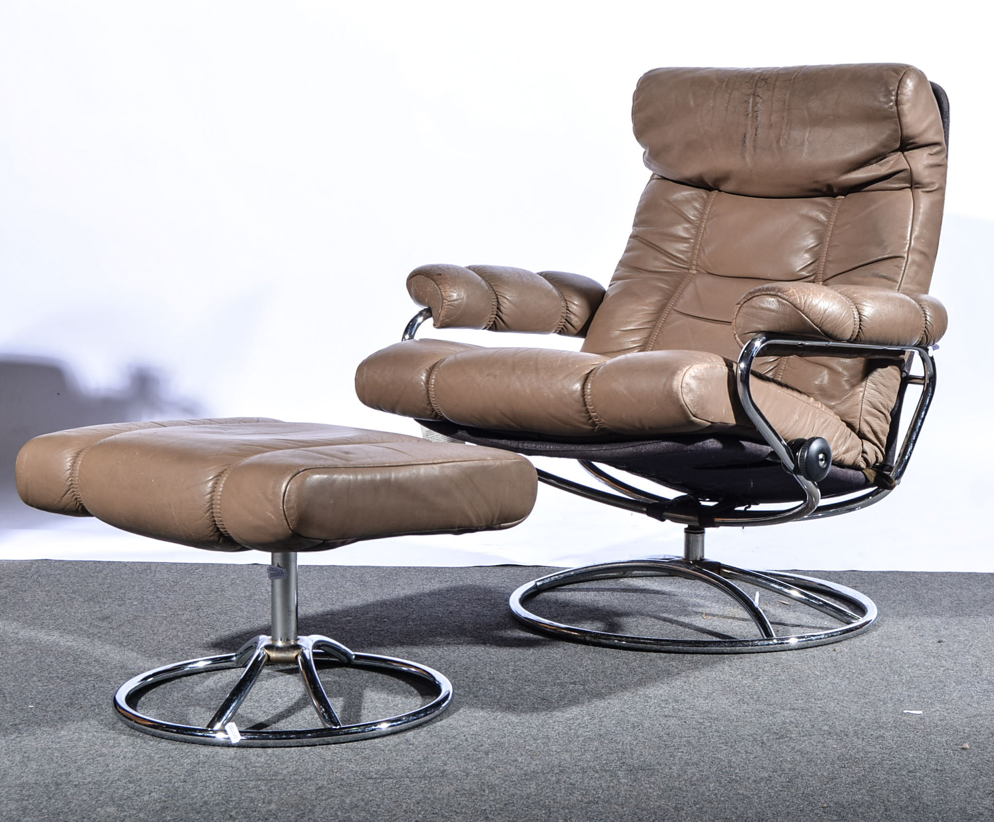 Stressless Furniture Market Harborough An Ekornes Stressless Easy Chair And Footstool In