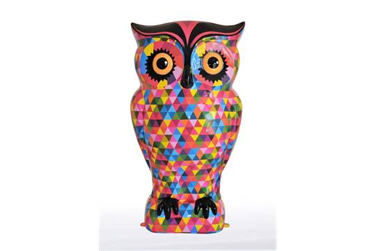 Tessellated Triangles This fabulous owl features triangular shapes