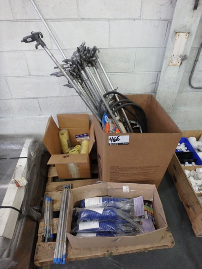 { Group of lots: 466,467,468 } Lot of: Flex Coil Air Hose