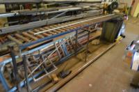 Mec Brown/Pedrazzoli Cold Saw, with roller feed table