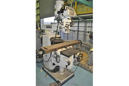 VECTRAX MDL GS20V VERTICAL MILLING MACHINE, WITH 70-3600 RPM