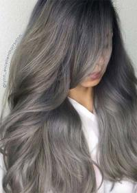 Silver Hair Trend: 51 Cool Grey Hair Colors & Tips for ...