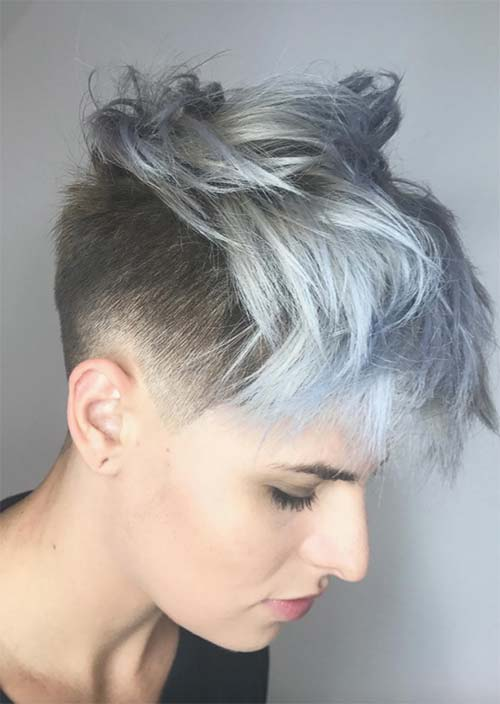 Short Undercut Hairstyles For Women Undercuts