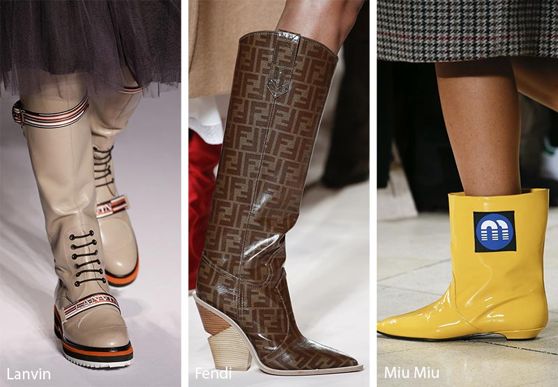 Fall Winter 2018 2019 Shoe Trends Fall 2018 Runway