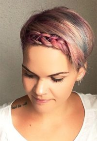 51 Cute Braids for Short Hair: Short Braided Hairstyles ...