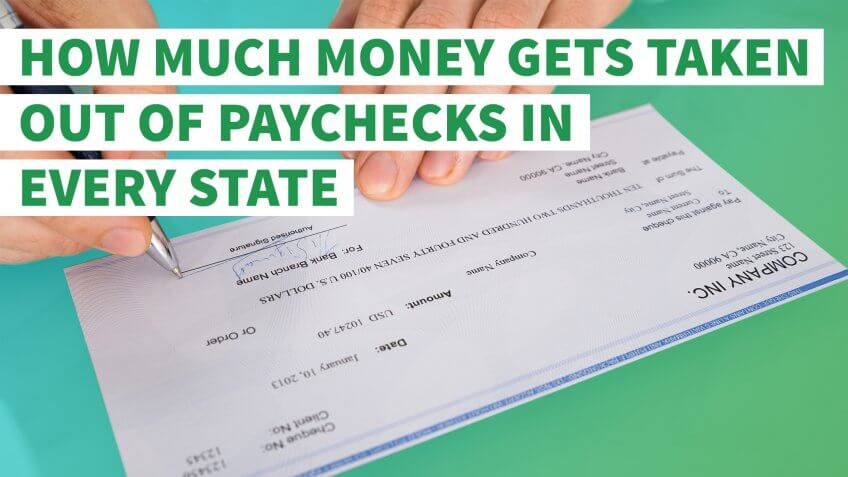 How Much Money Gets Taken Out of Paychecks in Every State - payroll tax calculator nyc