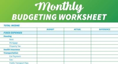 15 Easy-to-Use Free Budget Templates | GOBankingRates