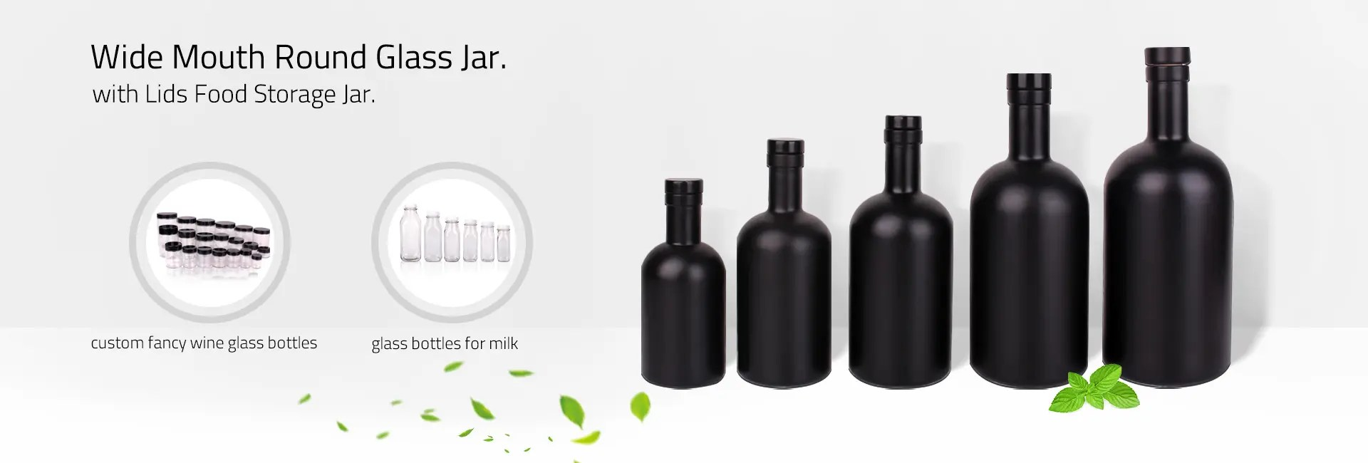 Glass Factory Manufacturer Wholesale Green Glass Bottle Manufacturer And Supplier