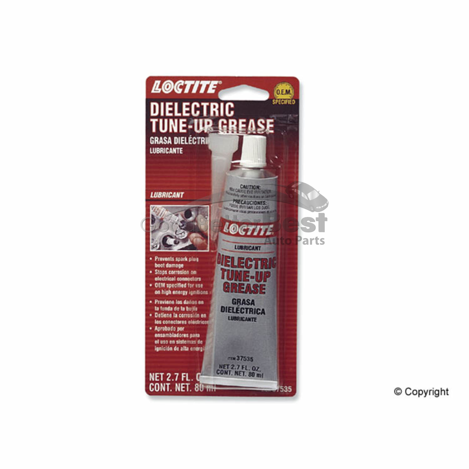 Dielectric Grease Details About One New Loctite Dielectric Grease 37535