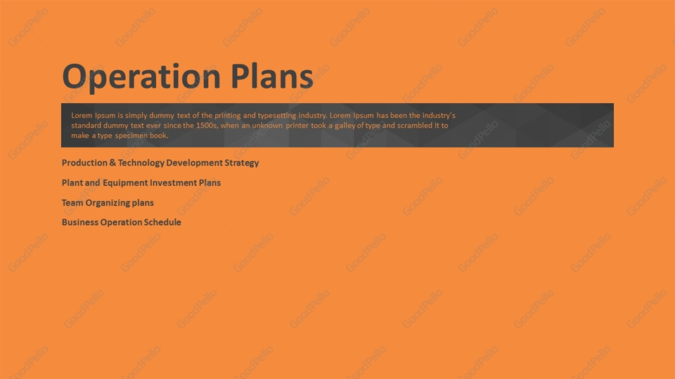 Business PPT Template Strategy Goodpello - business development strategy ppt