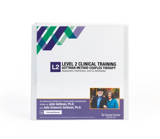 Level 2 Training Manual - Professionals The Gottman Institute