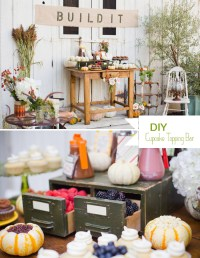 DIY: A Cupcake Topping Bar | Green Wedding Shoes Wedding ...