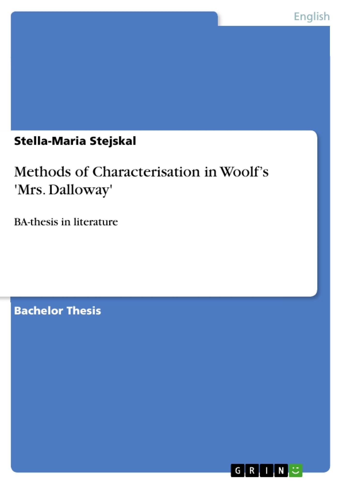 sally seton character analysis from mrs dalloway