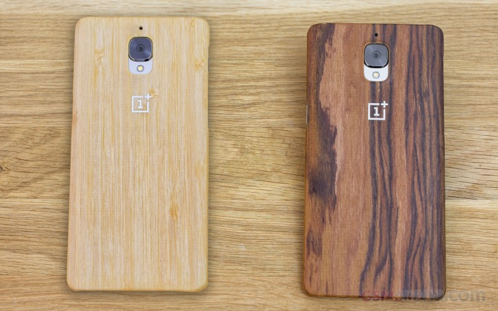 Here are all official OnePlus 3 cases HANDS-ON - GSMArena blog - rosewood case