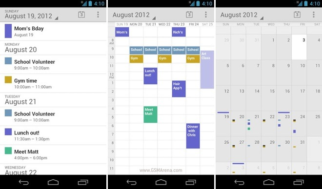 Custom Calendar For Android Custom Calendar In Android Android Calendar Example With Google Releases Stock Android Calendar App On The Play Store