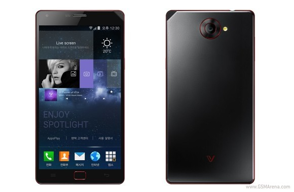 Pantech Vega Iron2 Goes Official With Snapdragon 801