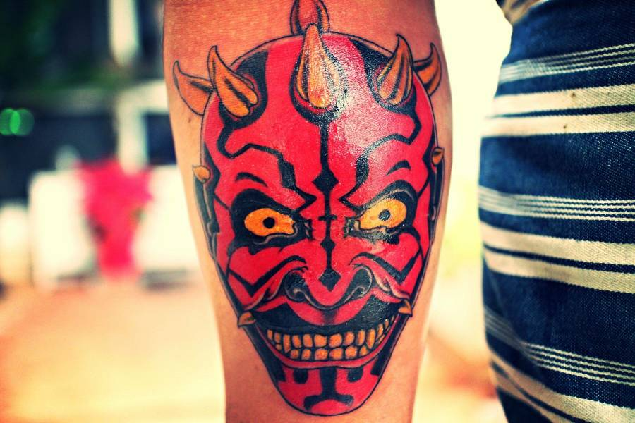 The Force Is Strong With These Star Wars Tattoos Emperor