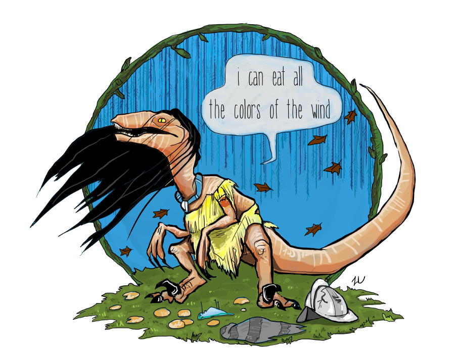 Why Do We Fall Wallpaper Disney Princesses Drawn As Raptors Because Why Not