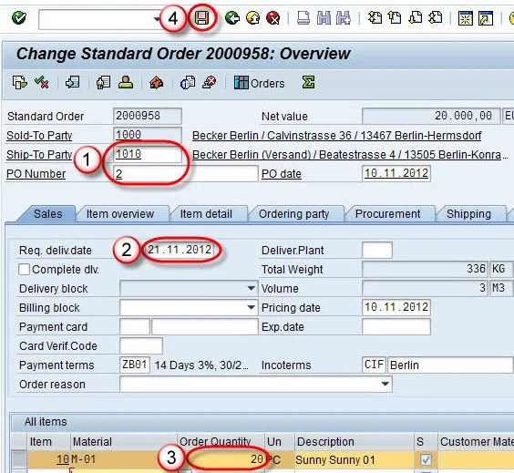 to Create Invoice Correction Request in SAP SD - how do i create an invoice