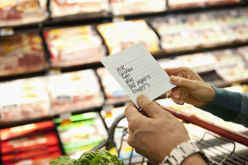 10 Ways To Make Grocery Shopping Easier For You - grocery store shopping list