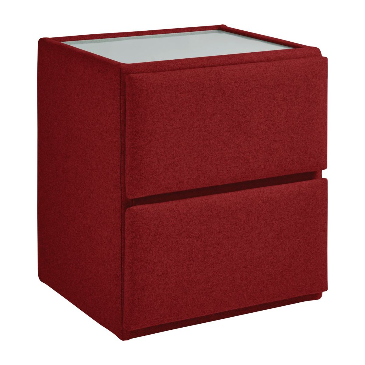 Chevet Rouge Amazon Chevet En Feutrine Rouge Habitat