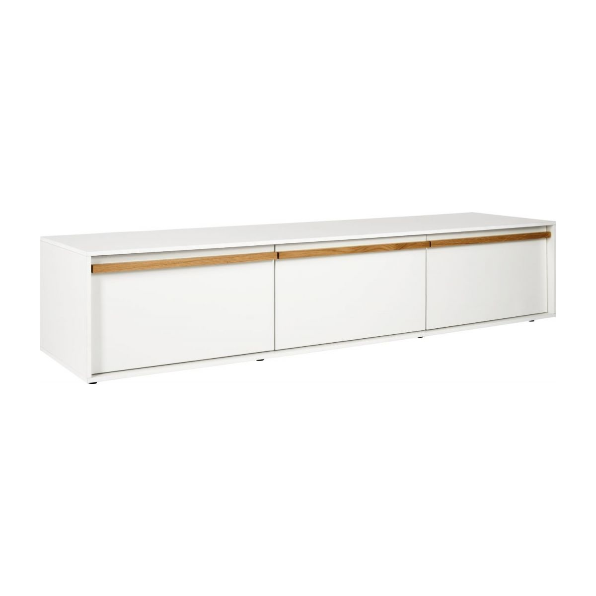 Habitat Meuble Tv Gimm White Audio Visual Unit