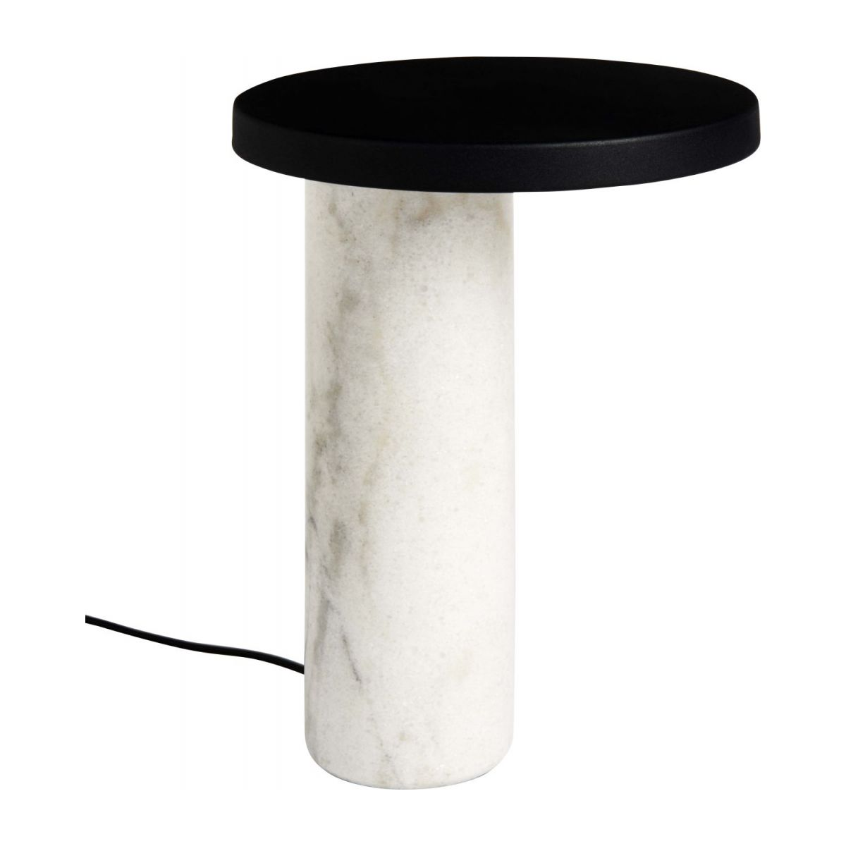 Table Blanche Heavy Lampe De Table Blanche