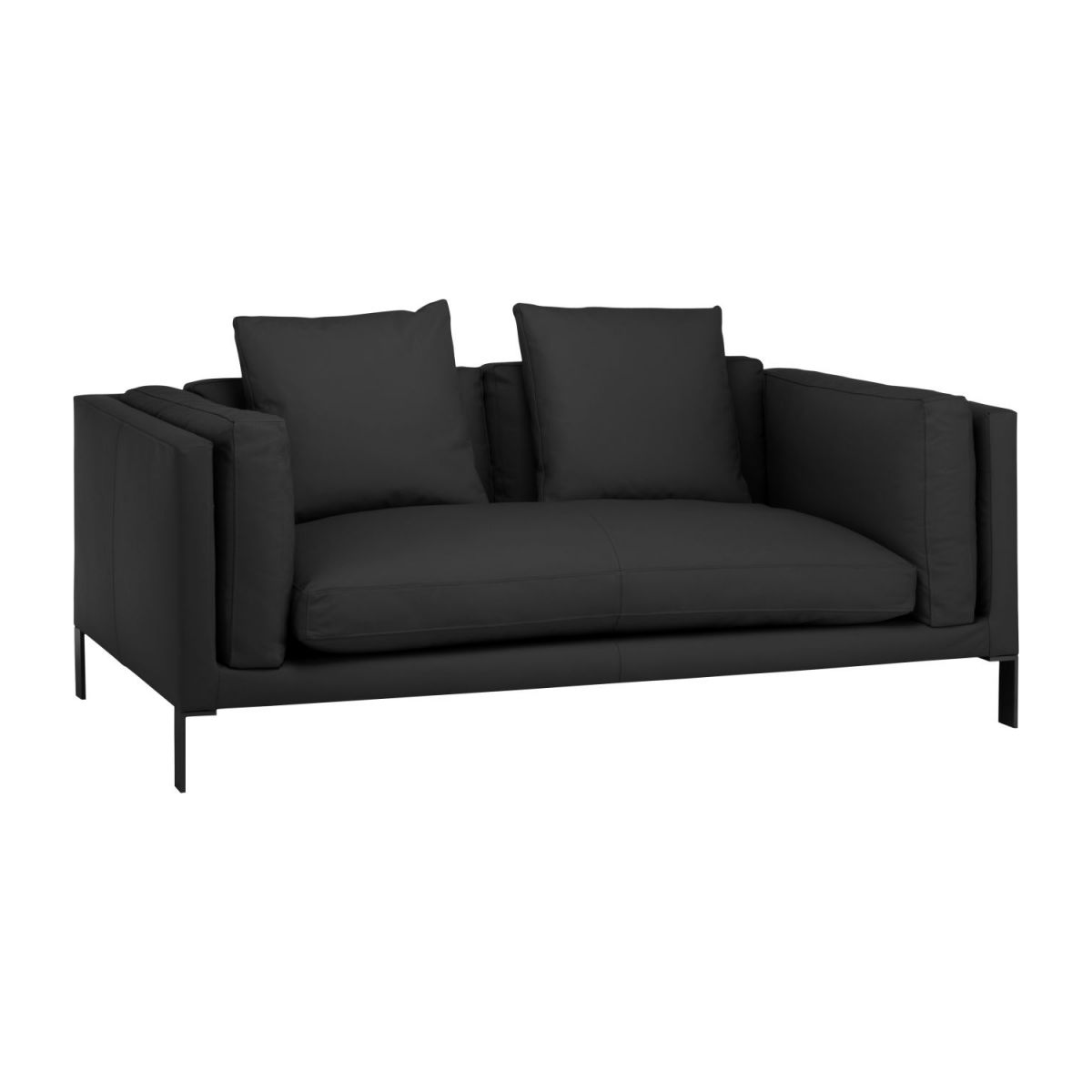 Couchgarnituren In Leder Sofa Leder Schwarz 2 Sitzer Sofa Ideas