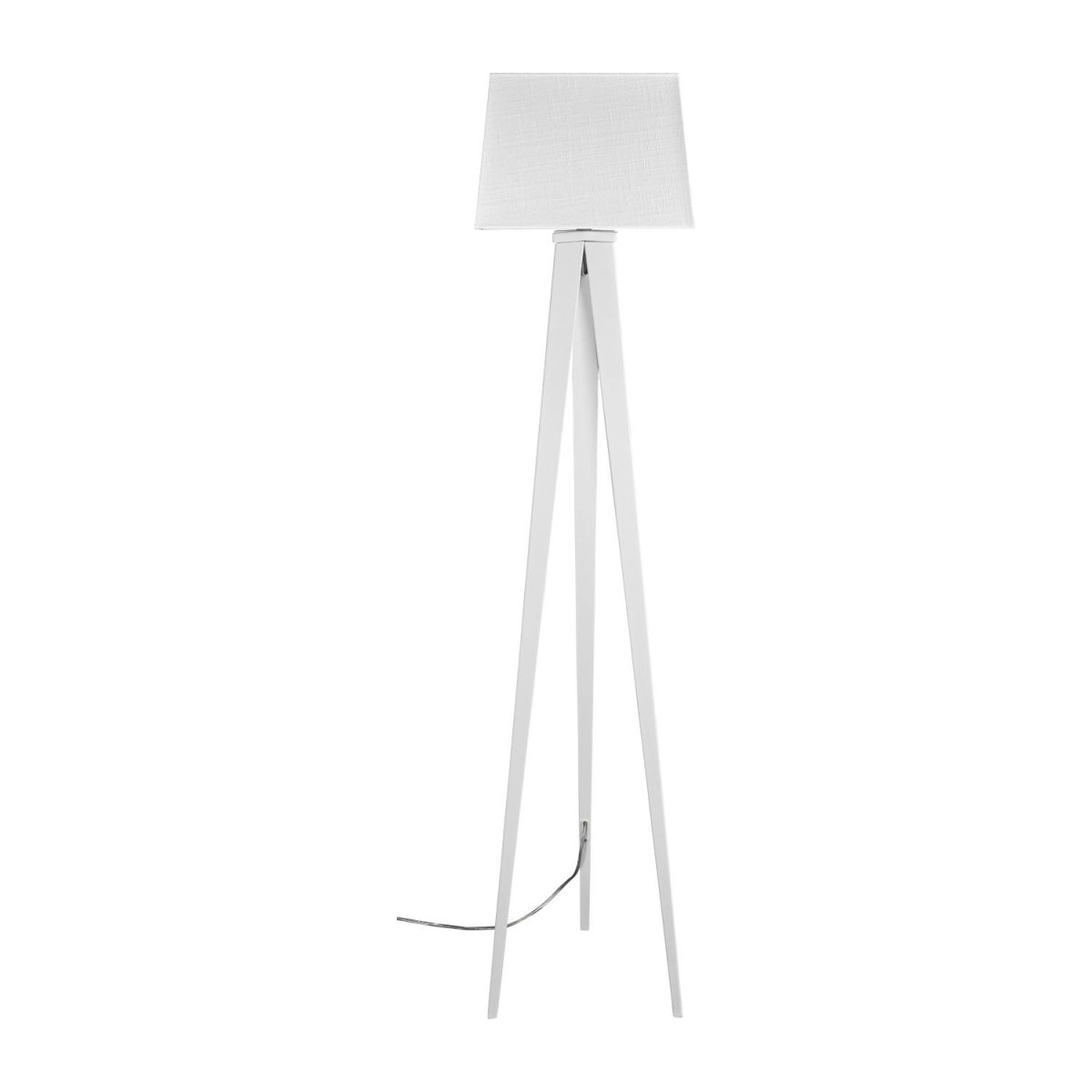 White Base Floor Lamp Yves Floor Lamp Base Made Of Metal White Habitat