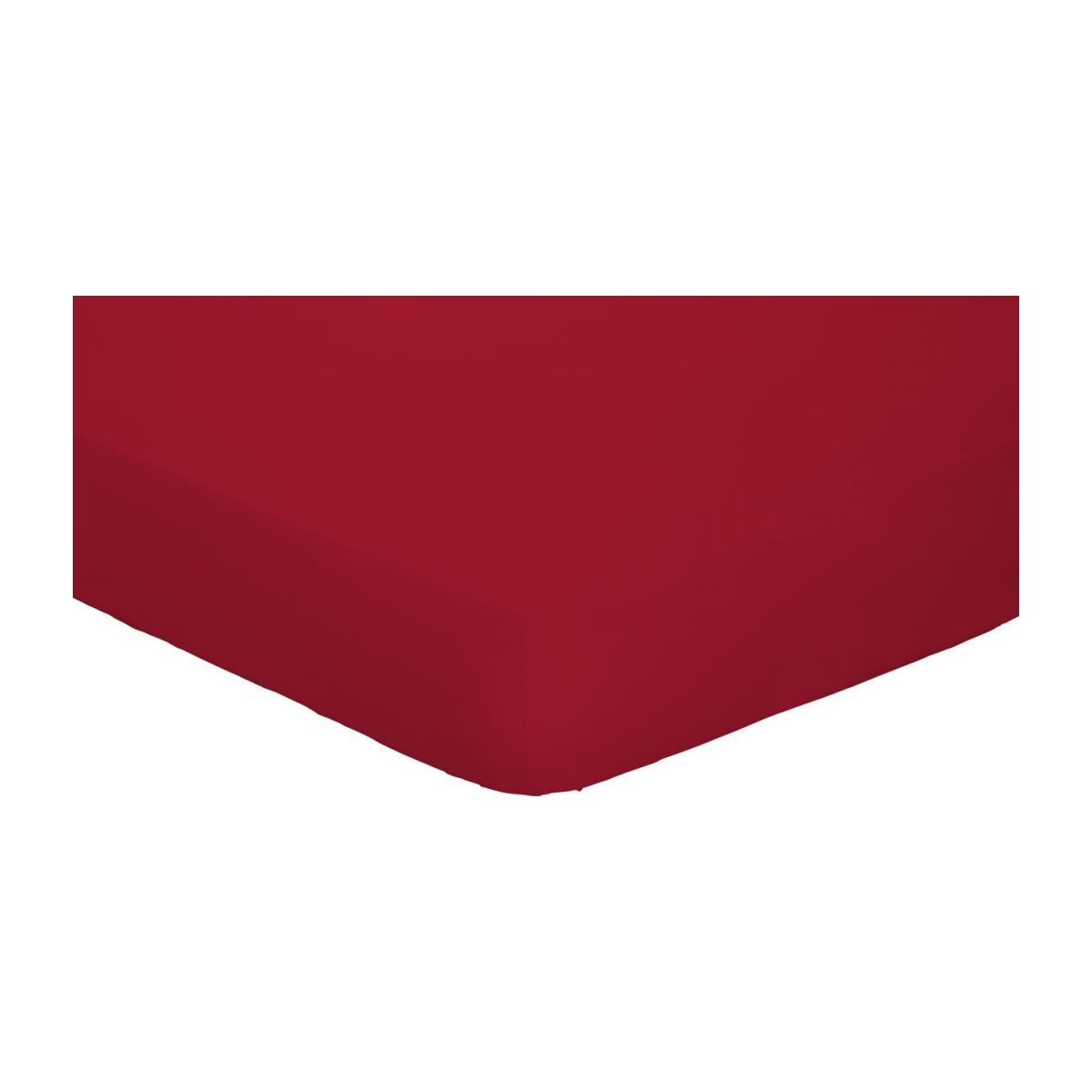 Couette 90x200 Percale Ii Drap Housse 90x200 Rouge