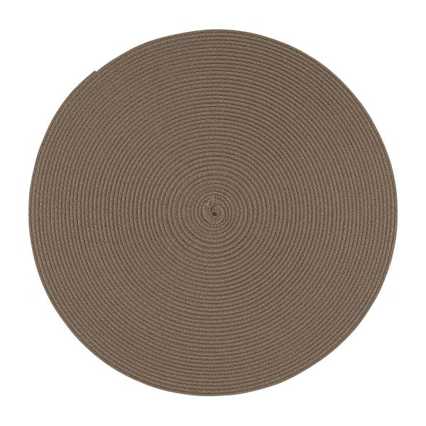 Table De Jardin En Plastique Cymbal Sets De Table Marron Plastique - Habitat