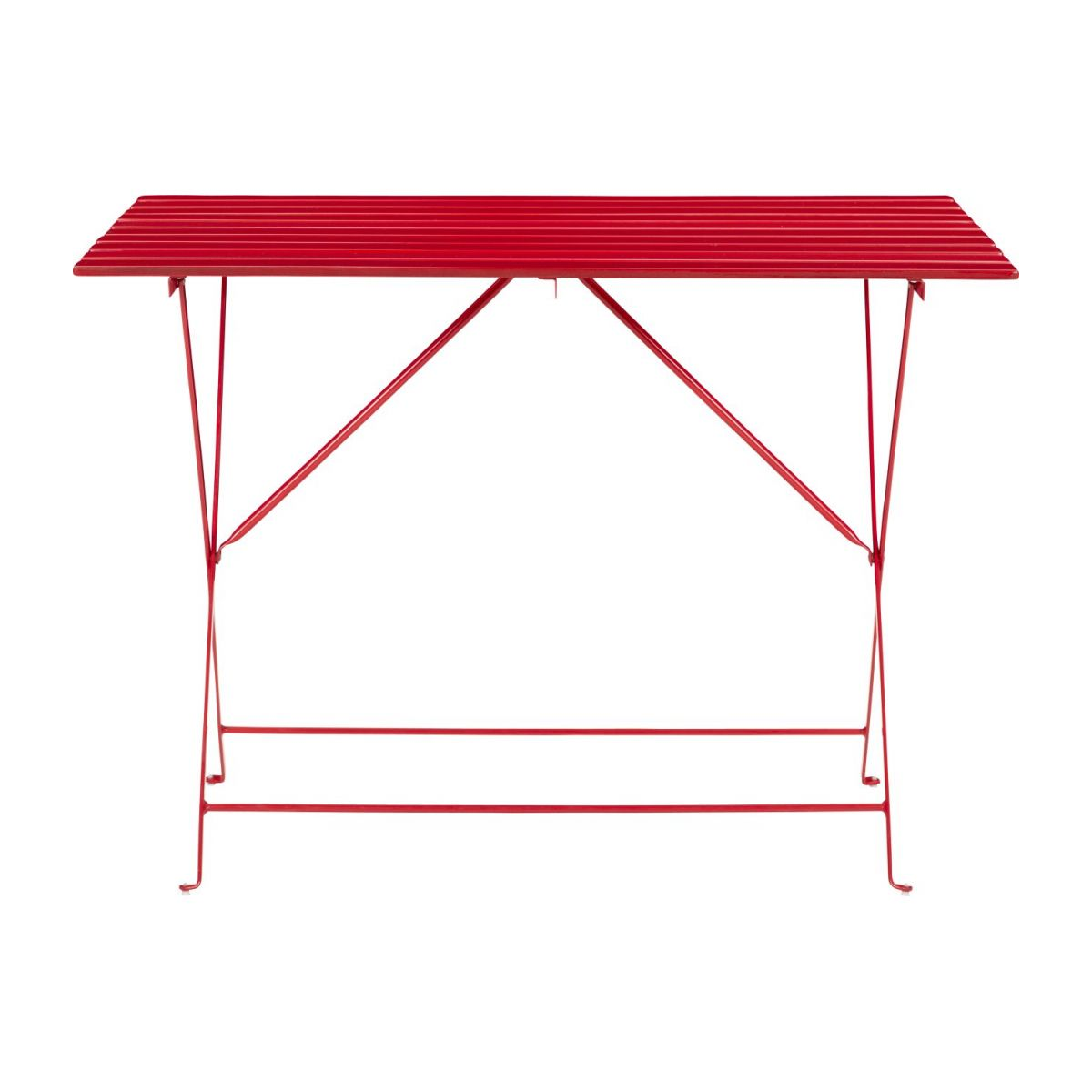 Table De Jardin Rouge Table De Jardin Pliante Parc Rouge Design Habitat Habitat