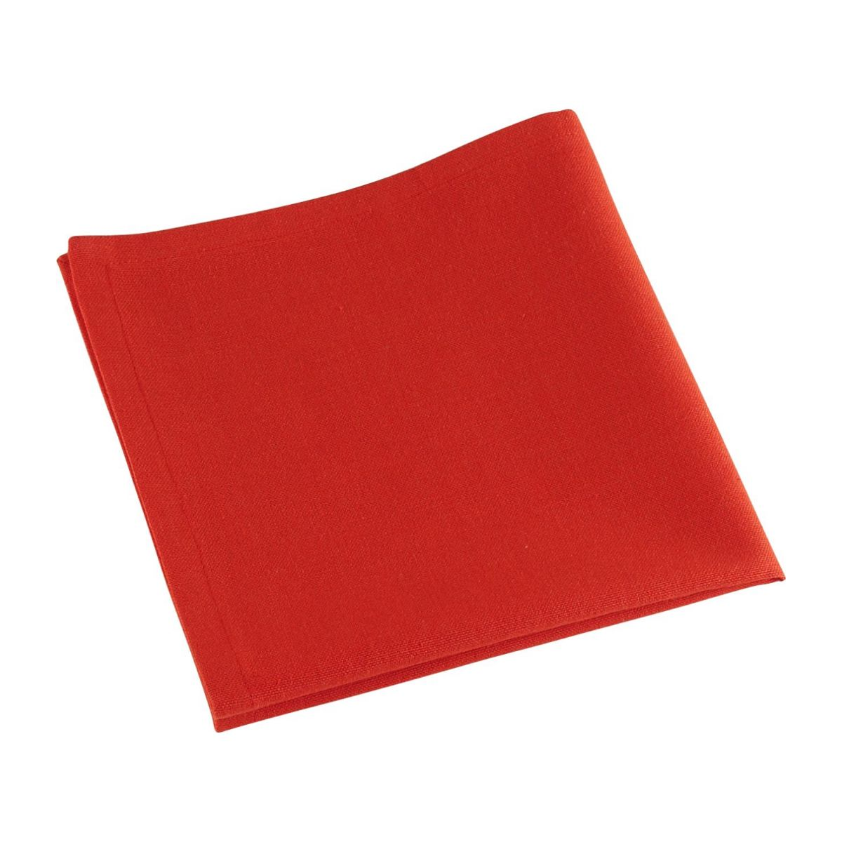 Serviette Table Avignon Serviettes De Table Rouge Tissu Habitat