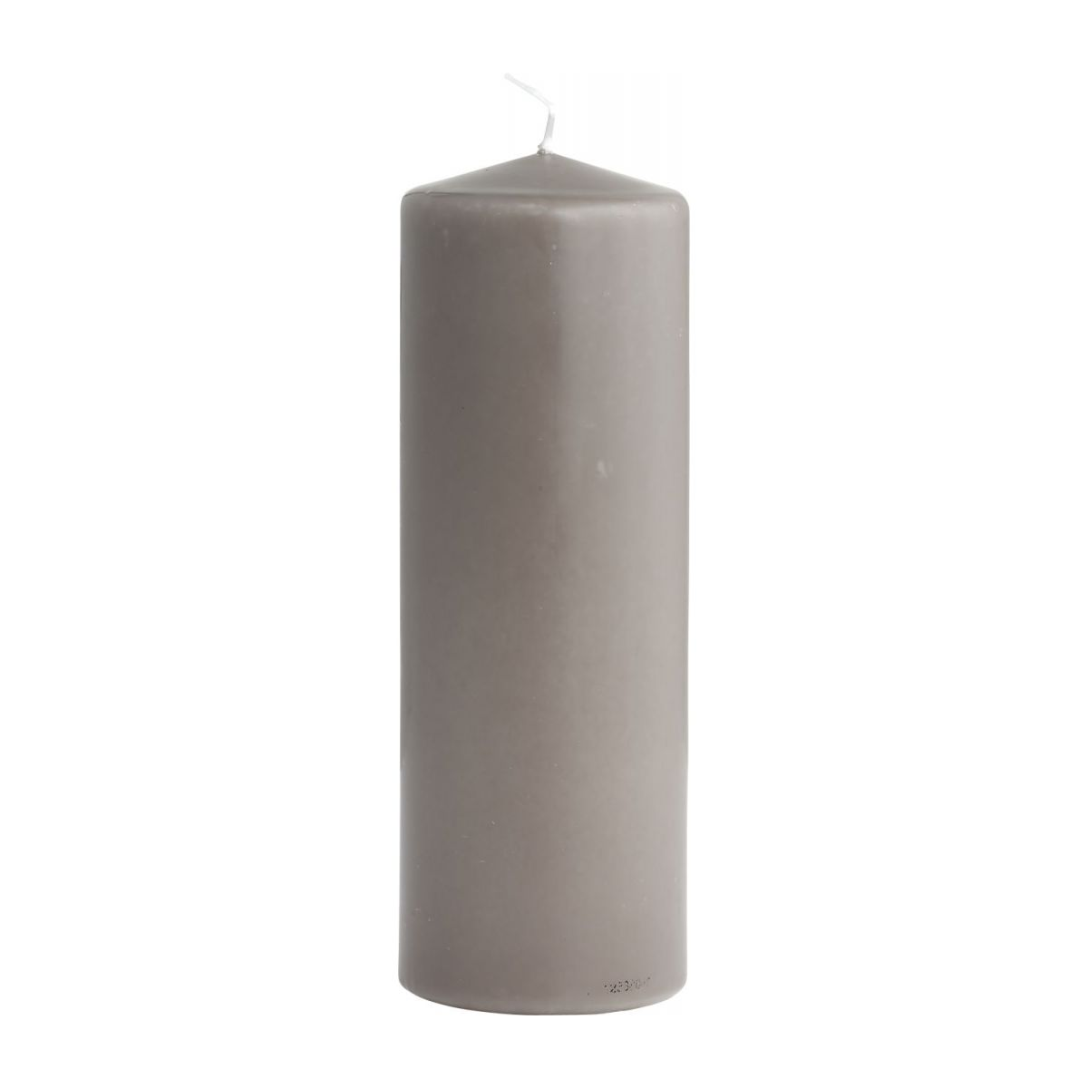 Bois Et Bougies Everyday Bougie Cylindre 20cm Taupe