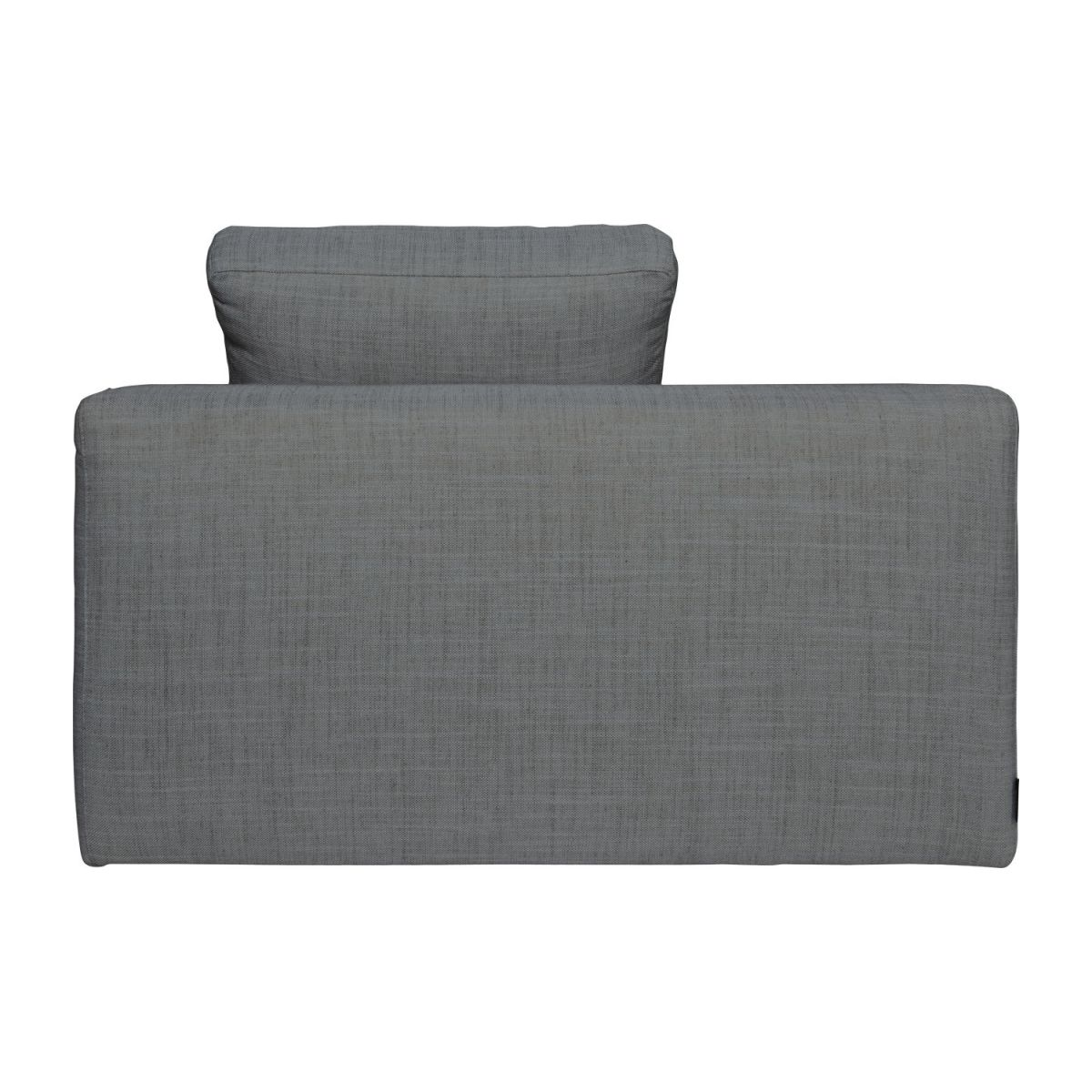 Meridienne Convertible Cyrus Canapés Méridienne Méridienne Convertible Gris Tissu