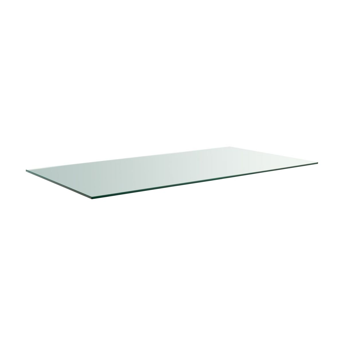 Protege Table En Verre Lagon Plateau De Table En Verre 160x80cm