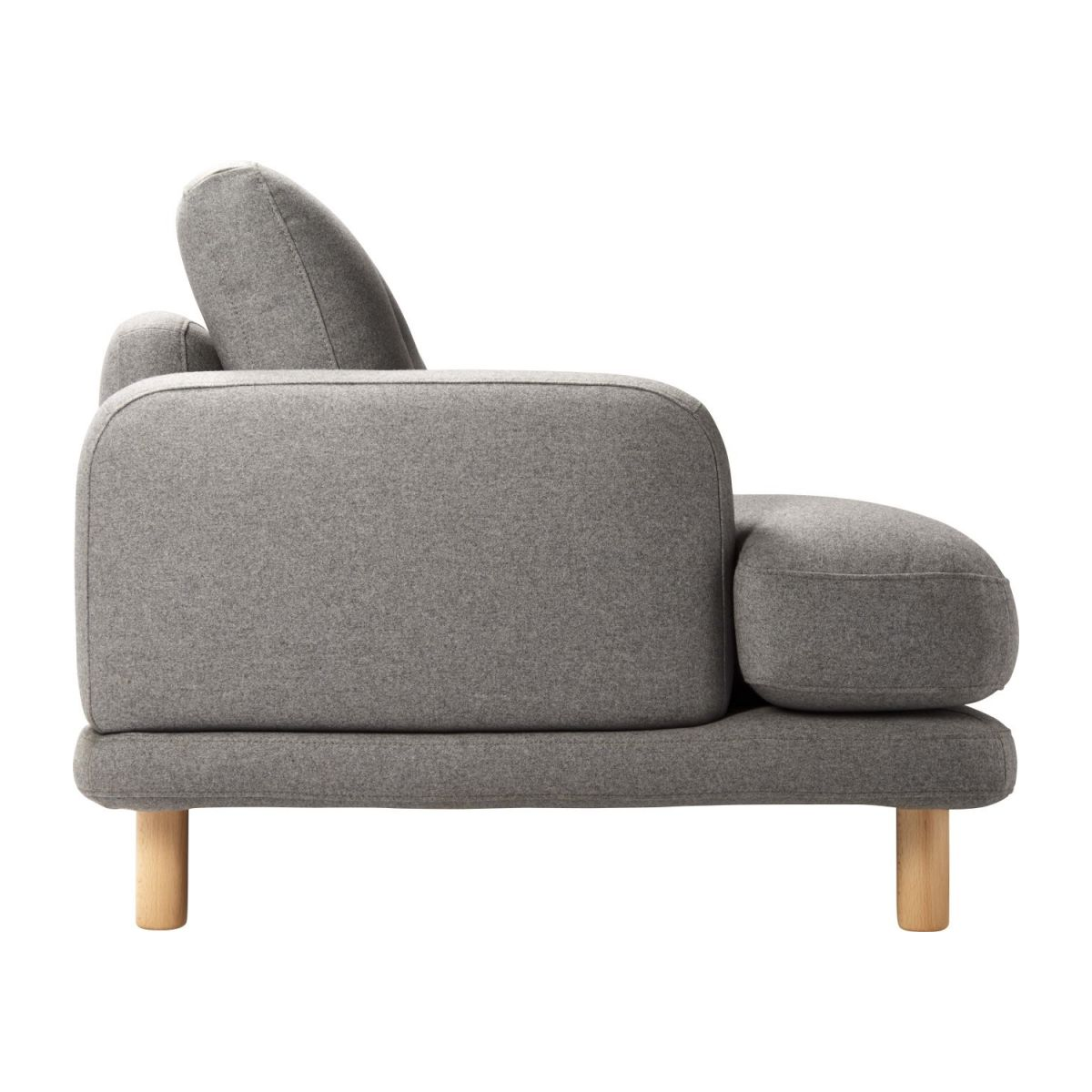 Sofaland Spain Land 3 Seater Sofa In Wool Felt