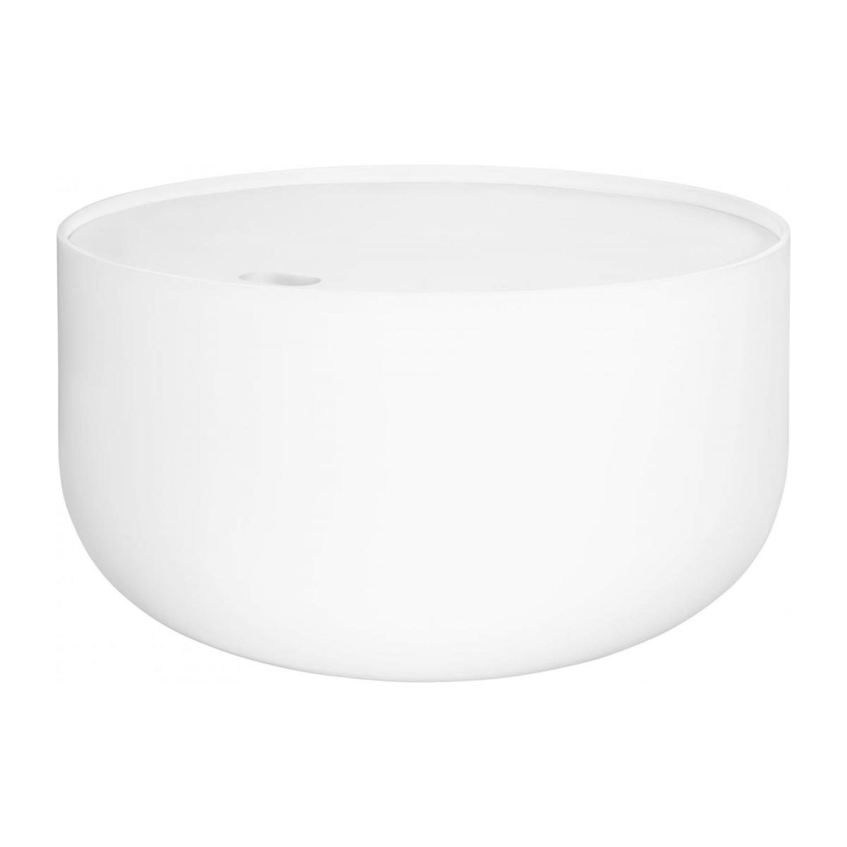 Table D Appoint Blanche Blyth Table D 39appoint 60cm Blanche Habitat