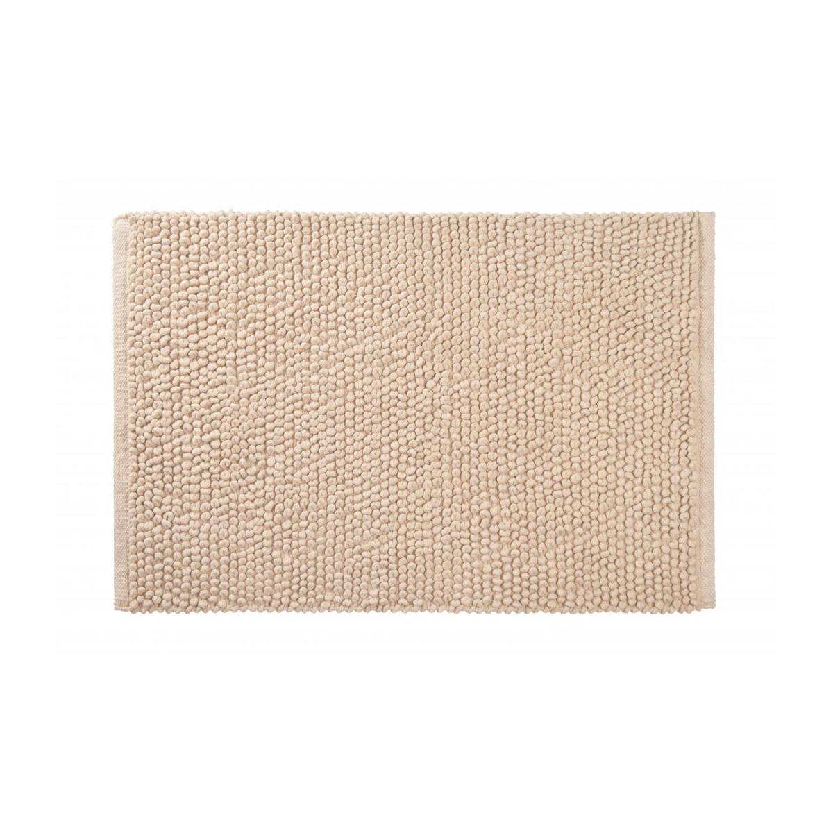 Badematte Taupe Bobble Badematte 50x80 Taupe
