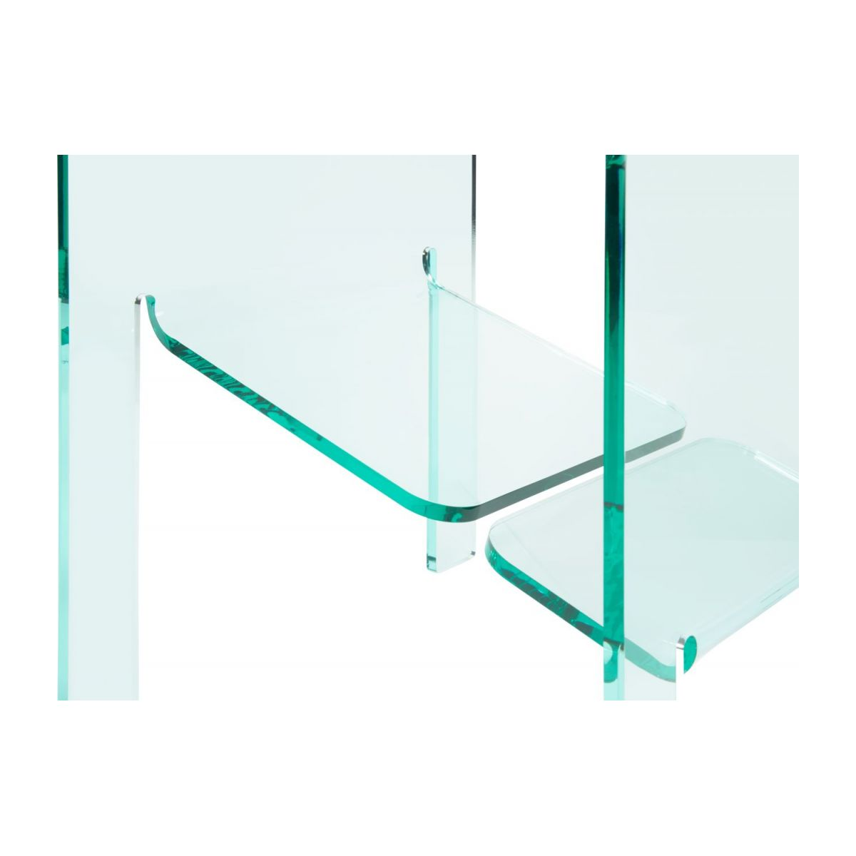 Bout De Canapé Transparent Jasper Table D Appoint En Acrylique Transparente