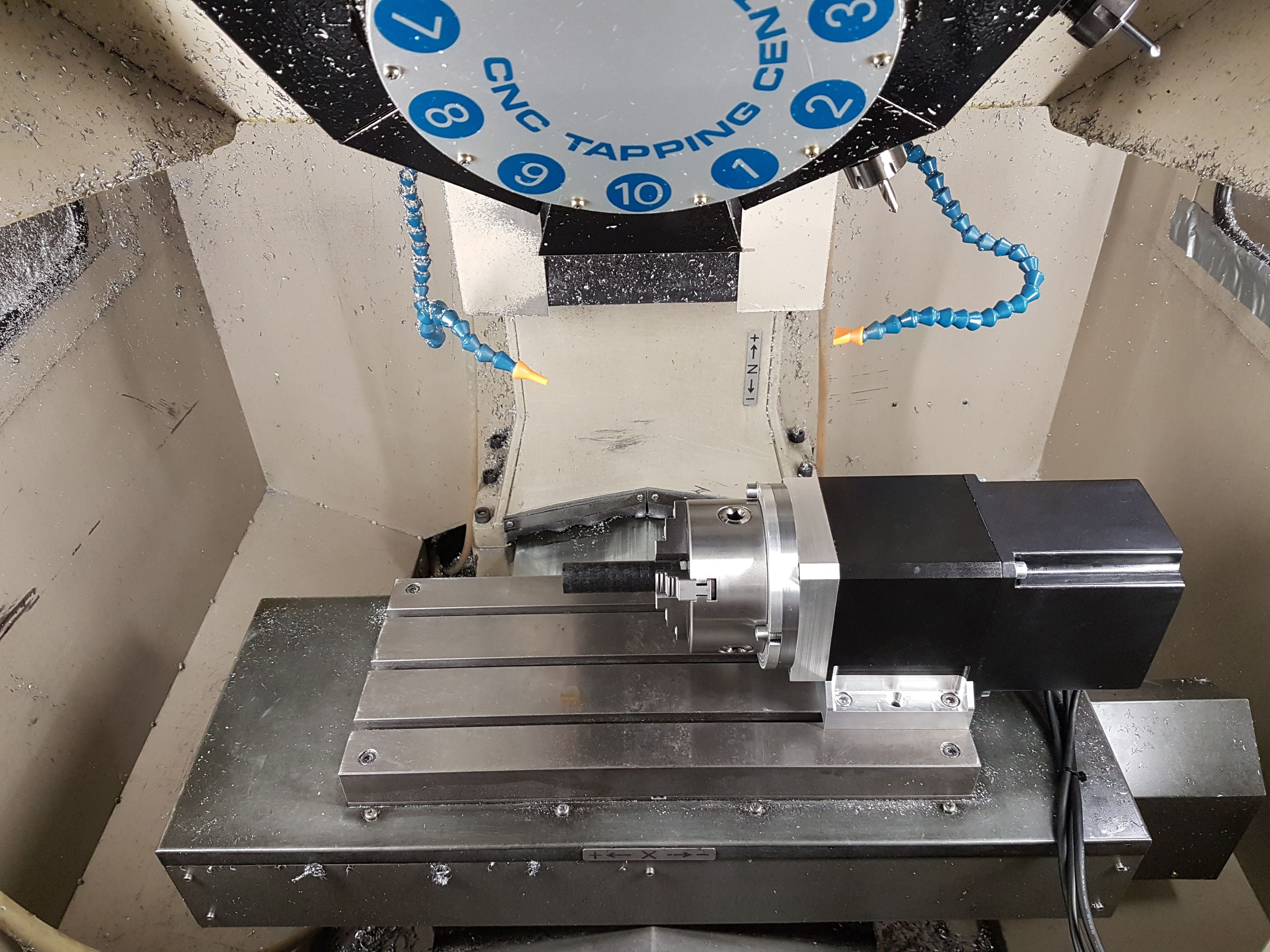 Gallery Diy Cnc 4th Axis With Brake Hackaday Io