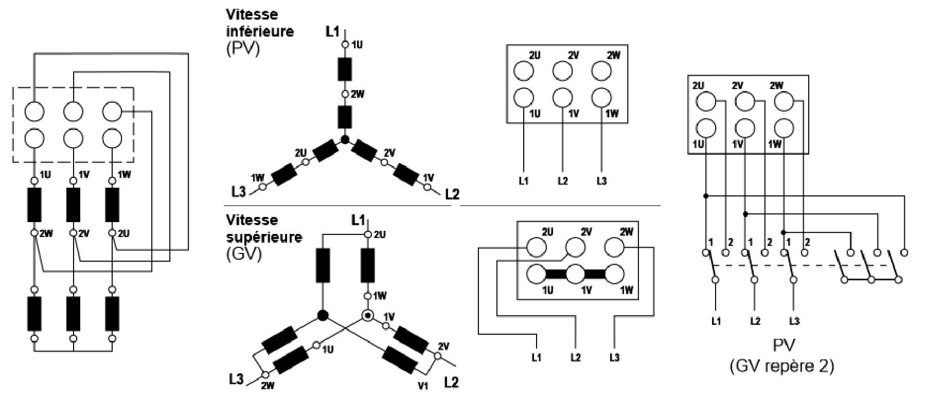 two speed three phase motor wiring diagram